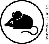 mouse vector icon | Shutterstock .eps vector #191048474