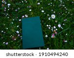 Book On The Green Grass...