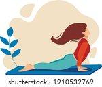 elegant flat illustration ... | Shutterstock .eps vector #1910532769