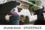 bear and bull investment market  | Shutterstock . vector #1910555623