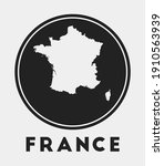 france icon. round logo with... | Shutterstock .eps vector #1910563939