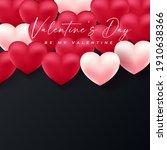 valentines day background... | Shutterstock .eps vector #1910638366