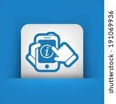 info mobile device | Shutterstock .eps vector #191069936