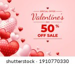 special offer during valentines ... | Shutterstock .eps vector #1910770330