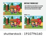 mistake finding quiz   a game... | Shutterstock .eps vector #1910796160