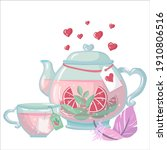 a set of objects drawn with a...   Shutterstock .eps vector #1910806516