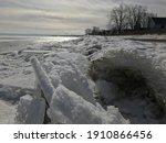 Michigan's Lake Erie  Frozen...