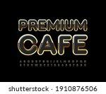 vector elite logo premium cafe. ... | Shutterstock .eps vector #1910876506