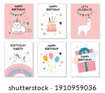 happy birthday greeting card...   Shutterstock .eps vector #1910959036