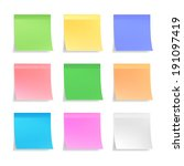 Collection Of 3d Vector Sticky...