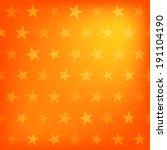 Orange Stars Pattern Background....