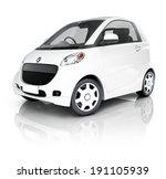 Stock photo hybrid d car 191105939