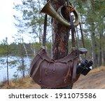 Binoculars  Old Bag  Hunting...
