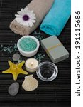 aromatherapy spa set | Shutterstock . vector #191115686
