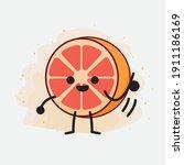 an illustration of cute orange...   Shutterstock .eps vector #1911186169
