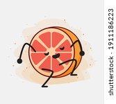 an illustration of cute orange...   Shutterstock .eps vector #1911186223