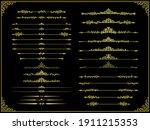 european classical spear shaped ... | Shutterstock .eps vector #1911215353