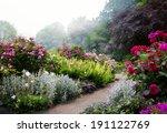 art flowers in the morning in... | Shutterstock . vector #191122769