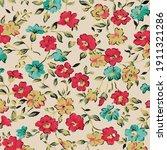 elegant gentle trendy pattern...   Shutterstock .eps vector #1911321286