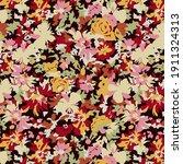watercolor seamless pattern... | Shutterstock .eps vector #1911324313