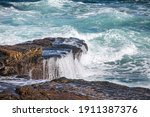 Natural Rock Formations In The...