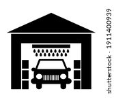 car wash  auto cleaning service ...   Shutterstock .eps vector #1911400939