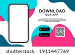 advertising banner for... | Shutterstock .eps vector #1911447769