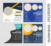 social media post template...   Shutterstock .eps vector #1911503929