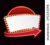 party invitation | Shutterstock .eps vector #191151098