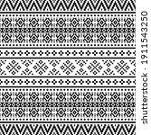 geometric ikat aztec ethnic...   Shutterstock .eps vector #1911543250