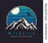 mountain typography graphics... | Shutterstock .eps vector #1911635746