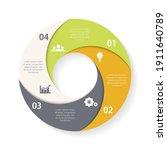 vector circle infographic...   Shutterstock .eps vector #1911640789
