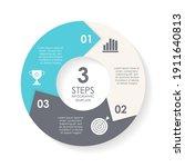 vector circle infographic...   Shutterstock .eps vector #1911640813
