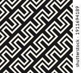 raster geometric lines seamless ... | Shutterstock . vector #1911694189