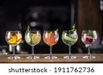 Gin Tonic Long Drink As A...