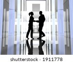 handshake | Shutterstock . vector #1911778