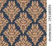 retro dainty seamless pattern... | Shutterstock .eps vector #191180054