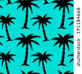 Seamless Pattern With Coconut...