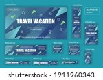collection web banners... | Shutterstock .eps vector #1911960343