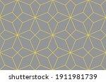 illuminating yellow and... | Shutterstock .eps vector #1911981739