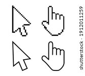 hand cursor icon with an index...   Shutterstock .eps vector #1912011259