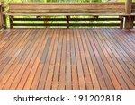 wooden decking | Shutterstock . vector #191202818