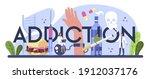 Addiction Typographic Header....