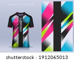 fabric textile for sport t... | Shutterstock .eps vector #1912065013