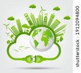 energy ideas save the world...   Shutterstock .eps vector #1912094800