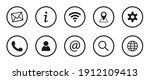collection of business symbols. ...   Shutterstock .eps vector #1912109413