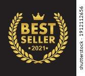 best seller badge icon logo...   Shutterstock .eps vector #1912112656