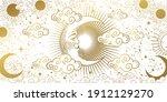 heavenly card for astrology ...   Shutterstock .eps vector #1912129270