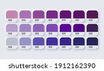colour palette catalog samples... | Shutterstock .eps vector #1912162390