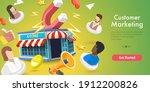 3d vector conceptual... | Shutterstock .eps vector #1912200826